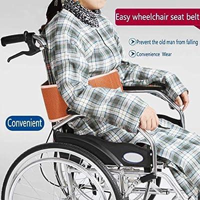 TTZ Cinturón de seguridad para silla de ruedas, arnés de seguridad ...