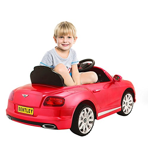 Power Wheels Cars Bentley: Costzon Bentley GTC 12V Kids Ride On Car Battery Powered