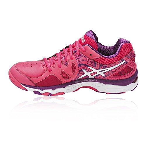 Asics Gel-netburner Super 7 Vrouwen Nettball Schuh - Aw17 Roze