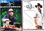 The Discovery Channel : Survivorman : Extended Epsiodes : Desert , Boreal Forest , Swamp , Jungle , Arctic , Mountain , Winter Plance Crash , Canyonlands , Lost At Sea , Survivorman Alone in the American Wilderness : Colorado Rockies , Sierra Nevada , Georgia Swamp , Canyon : 2 Pack : 3 Disc Set - Over 9 Hours