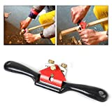 HiYi 9inch Adjustable Metal Blade Spoke Shave Wood Craft Planers Woodworking Hand Tools