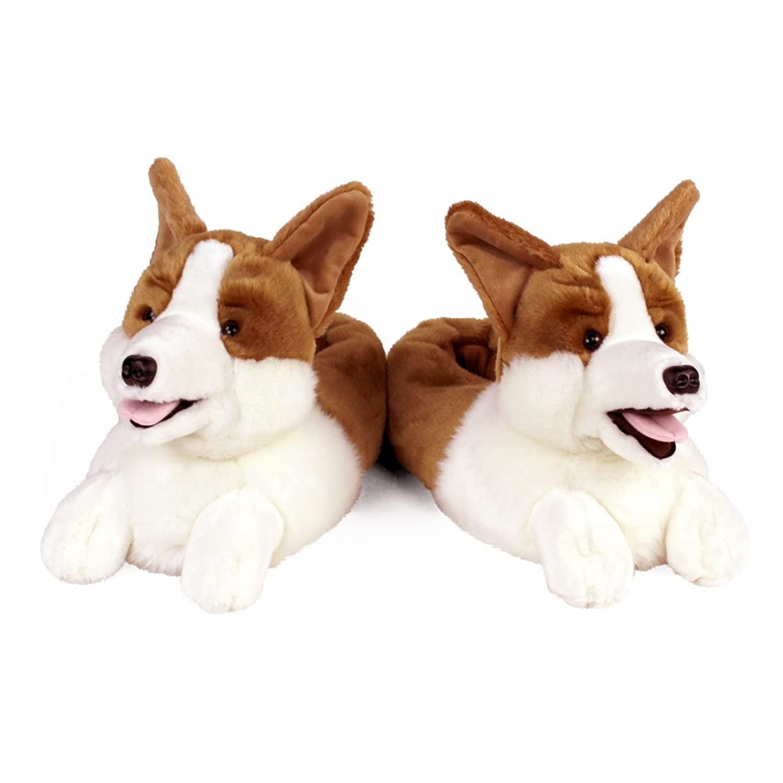 amazon com corgi slippers slippers