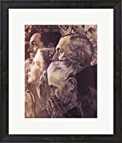Freedom to Worship by Norman Rockwell Framed Art Print Wall Picture, Espresso Brown Frame, 18 x 21 inches