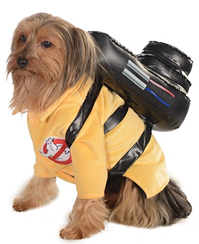 UHC Ghostbusters Outfit Funny Theme Fancy Dress Puppy Halloween Pet Dog Costume, XL