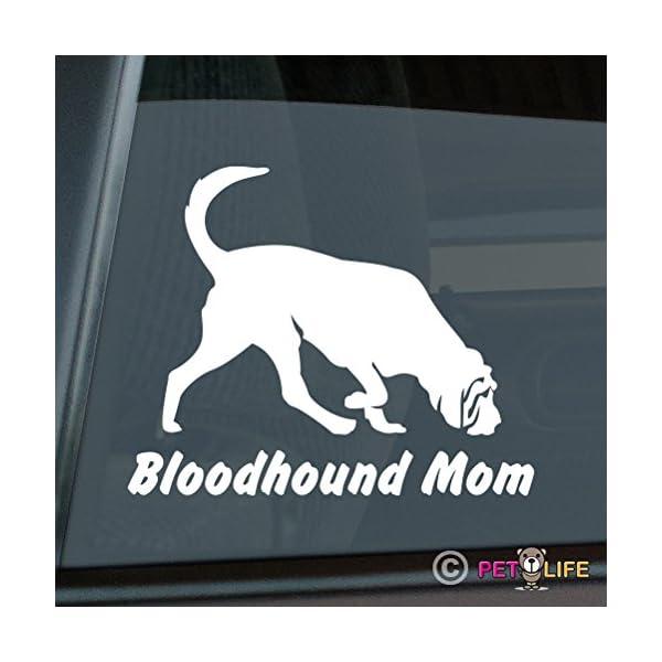 Bloodhound Mom Sticker Vinyl Auto Window Blood Hound 1