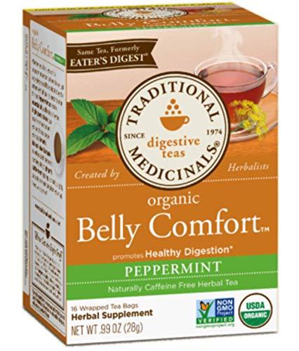Traditional Medicinals Organic Digestive Tea, Belly Comfort