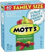 Mott's Fruit Snacks Medleys Assorted Gluten