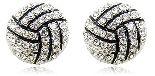 clear-crystal-volleyball-player-sports-fan-stud-earrings-fashion-jewelry-gift-girls-teens-women