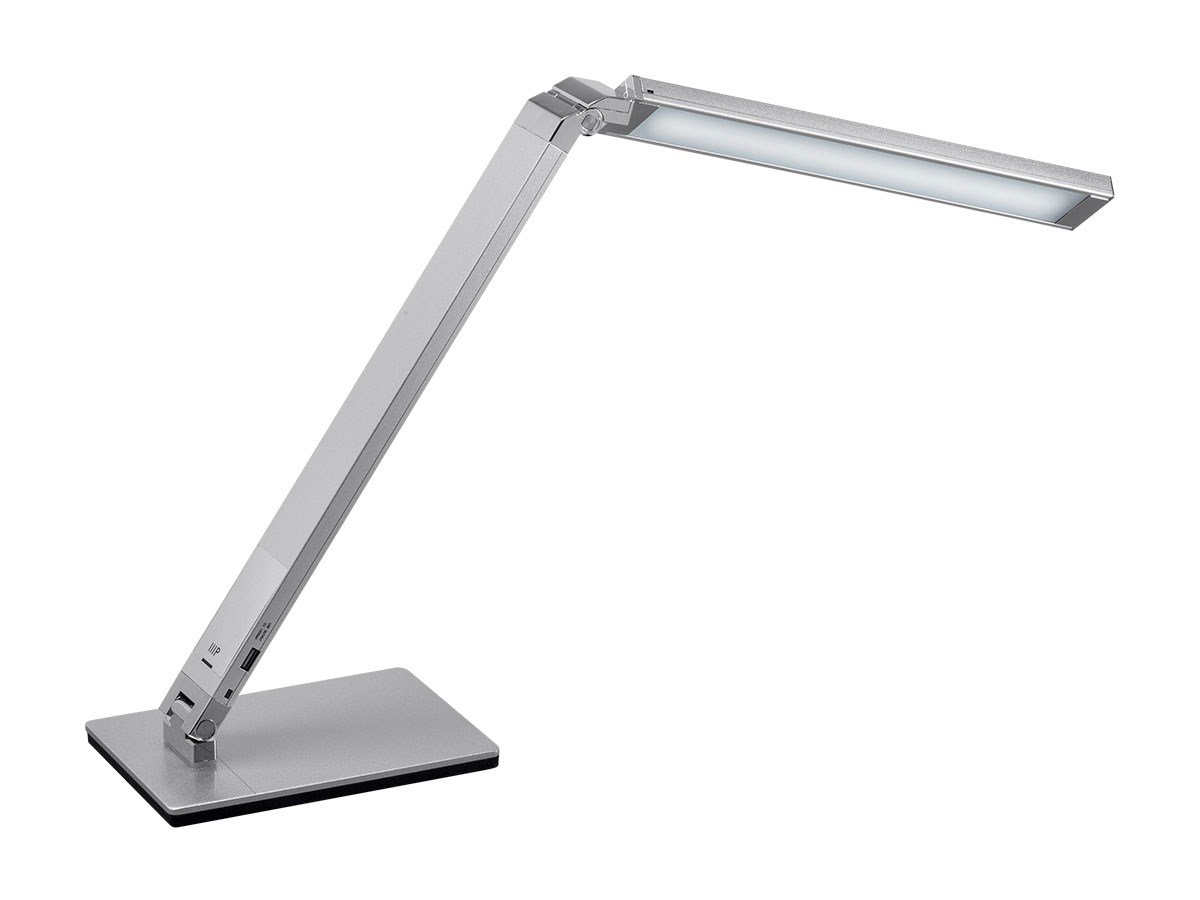 Monoprice LED Aluminum Desk Lamp, Silver - (116365) by Monoprice (Image #1)