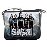 Sleeping With Sirens Rock Band Concert Tour Messenger Bag School Textbook Macbook Ipad Laptop Computer Sling Cross Body Bags
