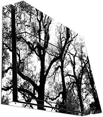 125c5eea0e345 Amazon.com: Spooky Black Trees Silhouette Playstation 4 PS4 Console ...