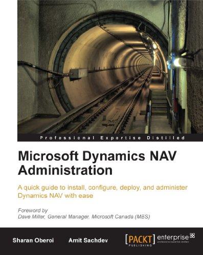 Microsoft Dynamics NAV Administration Pdf