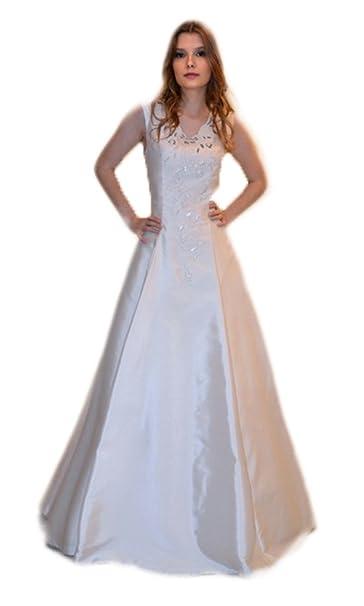 e8a7bffbe1 Abito da sposa sartoriale alta moda made in Italy (Mod. Mikado- Outlet)