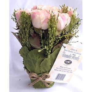 Light Pink Juliet Rose Graduation Party or Wedding Reception Artificial Flower Table Centerpiece (Set of 2) 32
