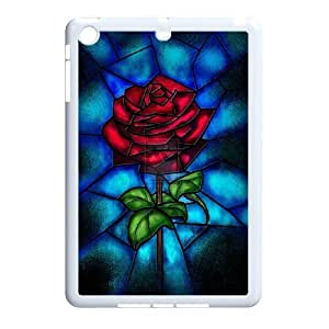 Stained Glass Disney Sleeping Beauty Hard Plastic phone Case Cover+Free keys stand For Ipad Mini Case ZDI038035