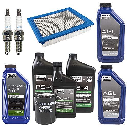 2013-2014 POLARIS RZR 900/S Complete Service Kit Oil Change Air Filter (Best Oil For Polaris Rzr 900 Xp)