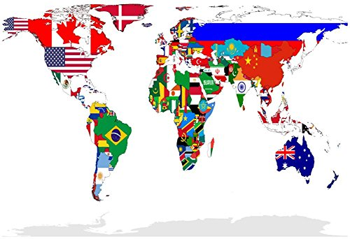 flags of the world poster - 9