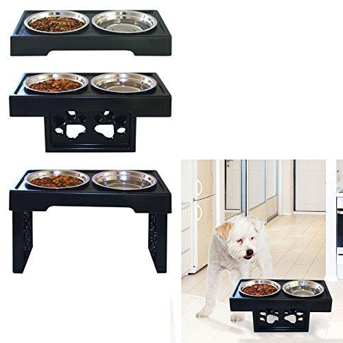 8 inch dog bowl set - 9