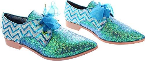 Irregular Choice  Mighty Fine, Chaussures de ville à lacets pour femme bleu bleu