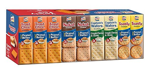 Lance Fresh Sandwich Crackers Variety Pack - 36 packs
