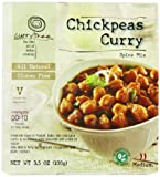 Curry Tree All Natural Gluten Free Spice Mix, Chickpeas Curry, 3.5-Ounce Boxes (Pack of 6)