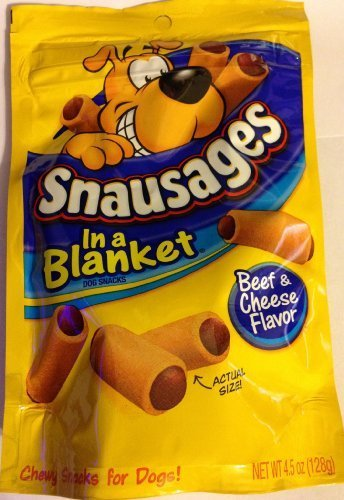 Snausages Dog Snacks - Beef & Cheese Flavor - Net