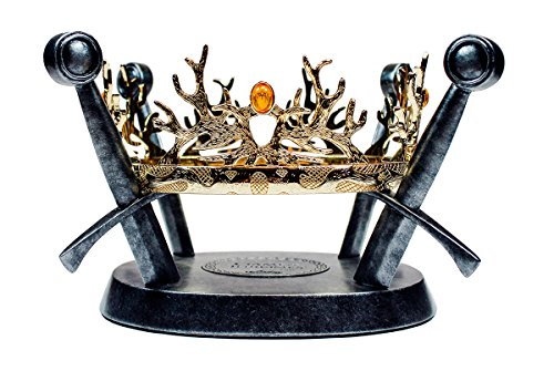 Factory Entertainment Game of Thrones - The Royal Crown of The Houses Baratheon & Lannister Play Set]()