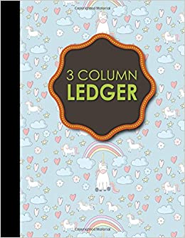 amazon com 3 column ledger appointment book accounting ledger for