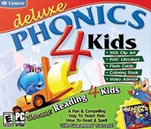 COSMI  Phonics 4 Kids Deluxe (Windows)