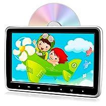 PORMIDO ヘッドレストモニター dvd スロットイン式 10.1インチ d...