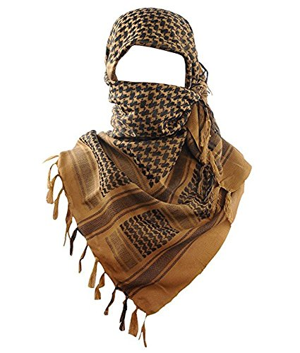Acme Approved 100/% Cotton Military Shemagh Keffiyeh Scarf