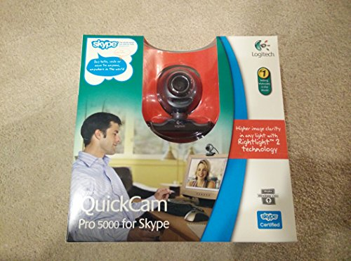 Quickcam Pro 5000 for Skype by Logitech
