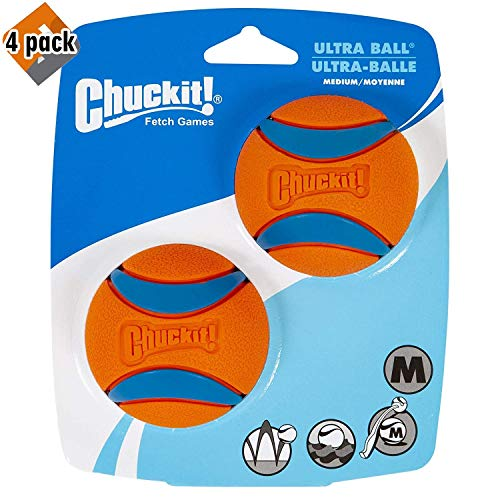 Chuckit! Ultra Ball Medium 4 Pack of 2
