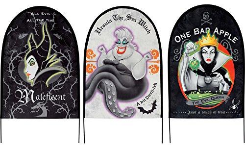 Disney Villains Fabric Yard Signs Set ()