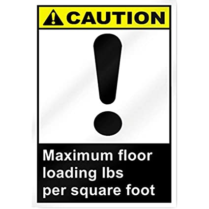 Amazon com: Diuangfoong Maximum Floor Loading_Lbs Per Square Foot