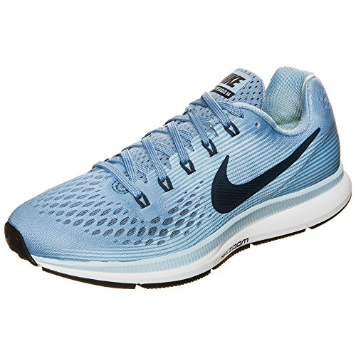 Uomo Flx 7in Shorts Distance 2 White Wolf Blue Running Nike 1 2in1 Nk Ice Black Blue in da M RwSEA7
