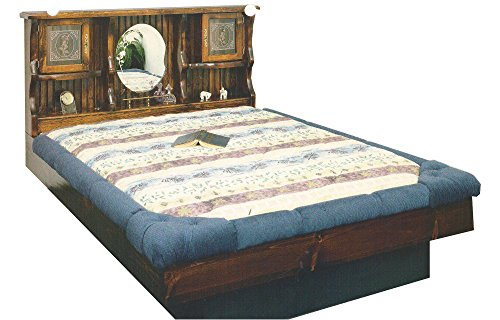 Waterbeds Pine (Strobel Organic Boston Complete Waterbed Premium Solid White Pine Unfinished King)