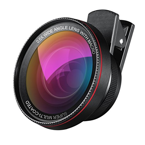 Cheap Black & White Contrast Filters AMIR Phone Camera Lens, 0.6X Super Wide Angle Lens + 15X Macro..