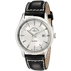 Zeno Men's 6662-515Q-G3 Vintage Line Analog Display Quartz Black Watch