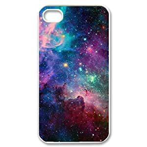 Galaxy Space Universe Original New Print DIY Phone Case for Iphone 4,4S,personalized case cover ygtg553244