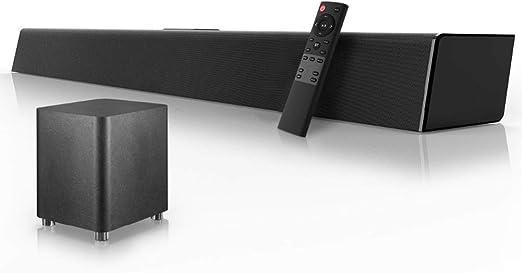 C- Barra De Sonido, Sistema De Sonido De Cine En Casa De 120 Vatios Barra De
