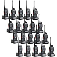 Baofeng BF-888S 5W 1500mAh 16 Channel Handheld Walkie Talkie Black + A USB Programming Cable