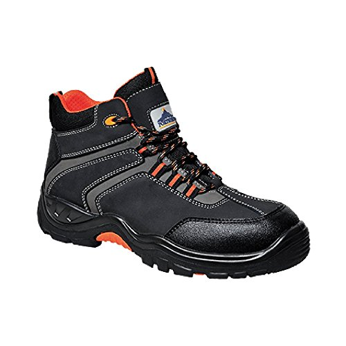 Portwest Fc60 Operis Bota S3 4/37, color negro, talla 10 UK negro