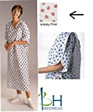 Product review for PATIENT GOWN,BUTTERFLY,TIESIDE, TRANQUILITY