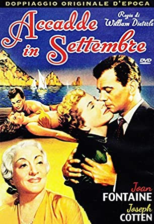 Accadde In Settembre Dvd Italian Import By Joan Fontaine Amazonde