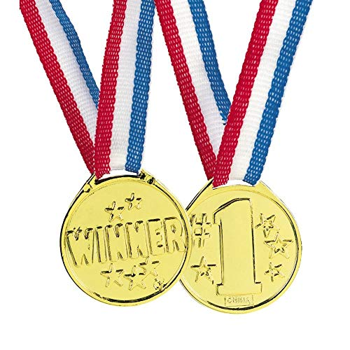 Winter Olympic Costume Ideas - Fun Express Gold Tone Winner Award