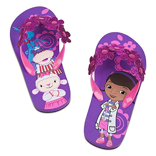 Disney Store Doc McStuffins Flip Flops for Girls Toddlers (13-1 M US Little Kid) -
