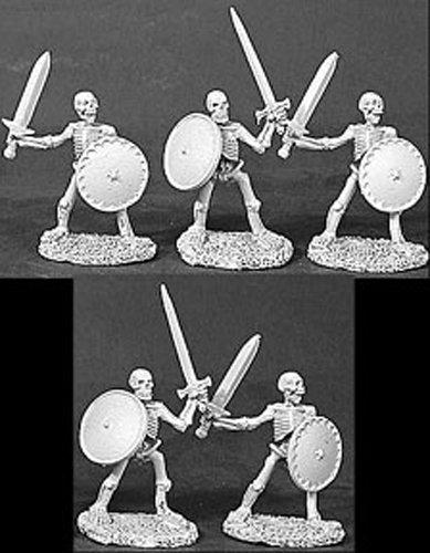 (Skeletons w/Swords & Shields MINT/New )
