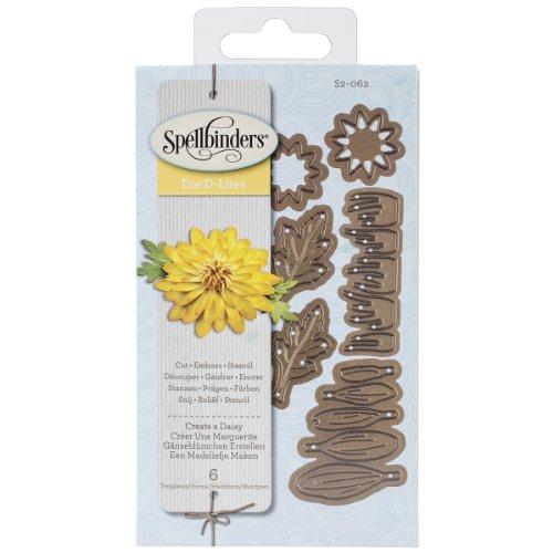 Spellbinders S2-062 Shapeabilities 'Crea - Daisy Shape Die Shopping Results
