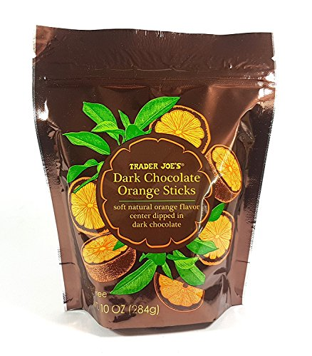 Trader Joe's Dark Chocolate Orange Sticks 10 0Z (pack of 1)